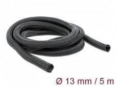 Kabelių apsauga 13mm 5m, juoda