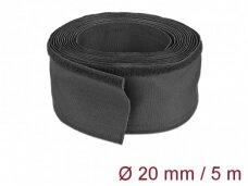 Kabelių apsauga 20mm 5m, juoda