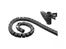 Kabelių apsauga 25mm 2.5m, juoda