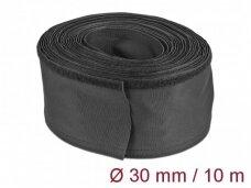 Kabelių apsauga 30mm 10m, juoda