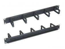 Kabelių fiksavimo panelė 44x82mm, su šepetėliais