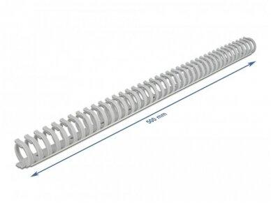 Kabelinis kanalas 35x30mm 0.5m, pilkas 2