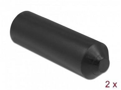 Kabelio apsauginis dangtelis su klijais 12-22mm, 2vnt.