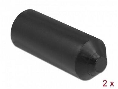 Kabelio apsauginis dangtelis su klijais 15-25mm, 2vnt.