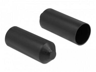 Kabelio apsauginis dangtelis su klijais 15-25mm, 2vnt. 2