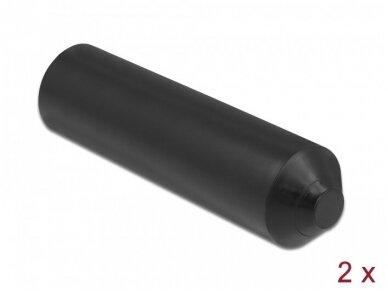 Kabelio apsauginis dangtelis su klijais 9-17mm, 2vnt.