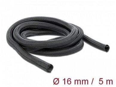 Kabelių apsauga 16mm 5m, juoda