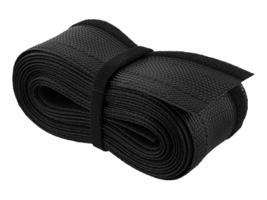 Kabelių apsauga 20-30mm, 1.8m, juodos spalv. 2