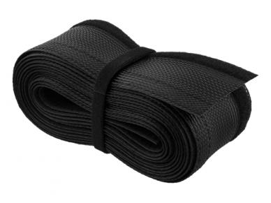 Kabelių apsauga 20-30mm, 3m, juodos spalv. 2