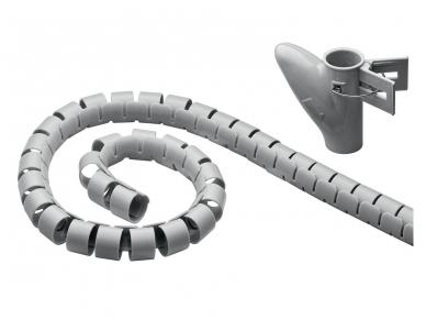 Kabelių apsauga 20mm 2.5m, sidabrinė