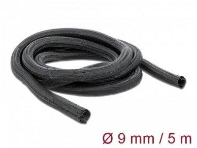 Kabelių apsauga 9mm 5m, juoda