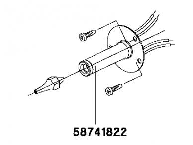 Kaitinimo elementas DXV 80 2