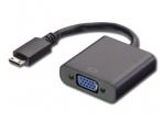 Keitiklis mini HDMI A M į VGA F 1080p/ 1920x1200