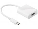 Keitiklis USB-C į HDMI 4K, 2K 30Hz baltas