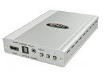Keitiklis VGA, audio 3.5mm, Toslink į HDMI, Toslink,  Lindy