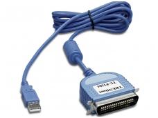 Keitiklis iš USB (A) į LPT (C36M) 1.8m