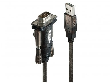 Keitiklis iš USB (A) į COM (DB9M) 1.5m 2