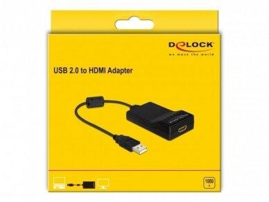 Keitiklis USB 2.0 į HDMI 2