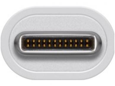 Keitiklis USB-C į 2xUSB 3.0 ir LAN 10/100/1000 4