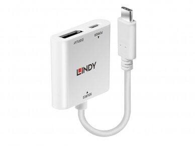 Keitiklis USB-C į DisplayPort 4K, PD 60W