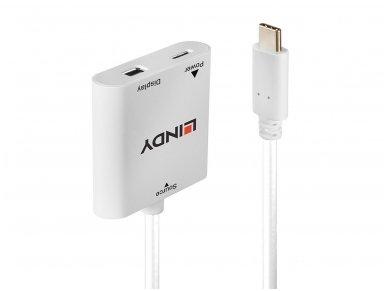 Keitiklis USB-C į Mini DisplayPort PD2.0 3840x2160 60Hz