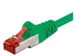 Komutacinis kabelis 1,5m S/FTP Cat6 Pimf, žalias LSZH CU