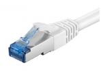 Komutacinis kabelis 5m S/FTP Cat6a Pimf, baltas LSZH CU