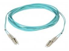 Komutacinis 2 skaidulų kabelis LC/LC 12m 50mkr OM3