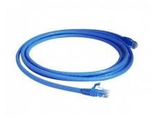 Komutacinis kab. 1.5m S/FTP 6 kat., AMP PIMF, mėlynas