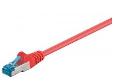 Komutacinis kabelis 20m S/FTP Cat6a Pimf, raudonas LSZH