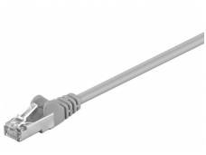 Komutacinis kabelis 3m SF/UTP Cat5E, pilkas