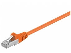 Komutacinis kabelis 5m F/UTP Cat5E, oranžinis