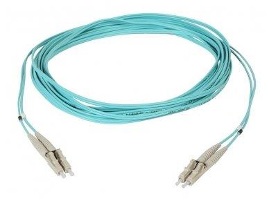 Komutacinis 2 skaidulų kabelis LC/LC 5m 50mkr OM3 3