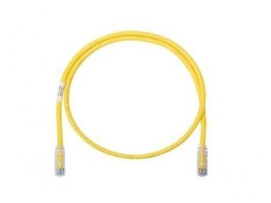 Komutacinis kab. 1.0m 5E kat. FTP geltonas, LSZH