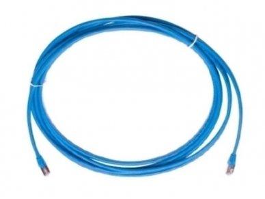 Komutacinis kab. 5.0m S/FTP 6A kat.,(Dia. 4,2mm) mėlynas 2