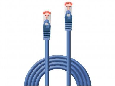 Komutacinis kabelis 0.3m S/FTP Cat6 Pimf, mėlynas 2