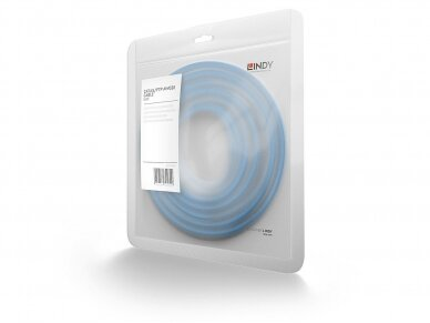 Komutacinis kabelis 0.3m S/FTP Cat6 Pimf, mėlynas 3