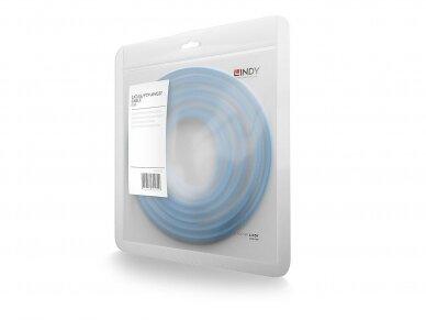 Komutacinis kabelis 0.5m S/FTP Cat6 Pimf, mėlynas 3