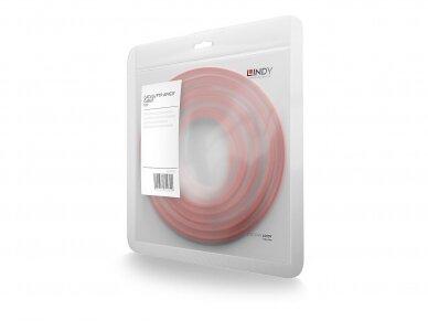 Komutacinis kabelis 0.5m S/FTP Cat6 Pimf, raudonas 3