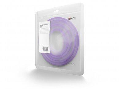 Komutacinis kabelis 2m S/FTP Cat6 Pimf, violetinis 3