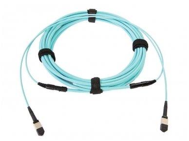 Komutacinis kabelis MPO/MPO 15m OM3