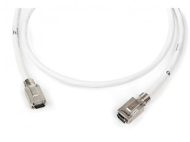 Komutacinis kabelis MRJ21-MRJ21 5m, ekranuotas 10G