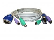 KVM kabelis 1.8m
