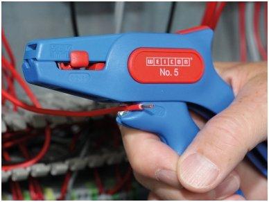 Laidų nuvalymo įrankis 0.2-6mm2 WEIC SUPER 5 6