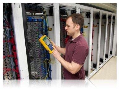 LAN kabelių analizatoriusDSX2-8000 INT 5