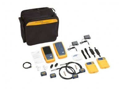LAN kabelių analizatoriusDSX2-8000 INT