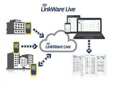 LAN kabelių analizatoriusDSX2-8000 INT 4
