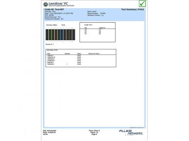 LAN matuoklis Fluke LIQ-100 6