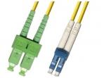 LC/SCAPC dvigubas vienmodis komut. kabelis 15m HP