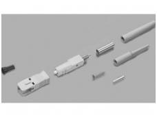 LC+ SC Simplex Connector, 62,5/125